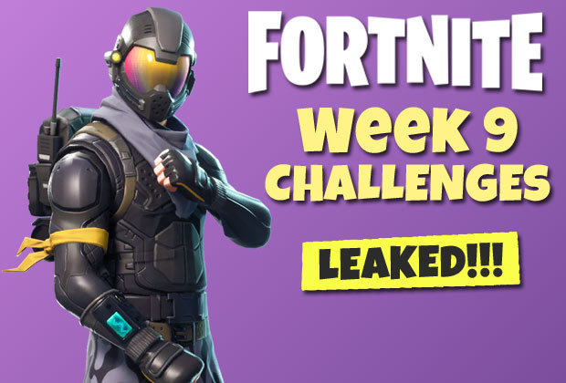 Fortnite Week 9 Challenges LEAKED - Battle Pass tasks for PS4, Xbox One and Mobile