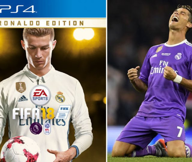 Real Madrids Cristiano Ronaldo Is The New Fifa  Cover Star As Trailer Is Revealed