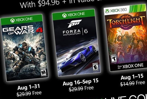 Games With Ggames With Gold August 2019 Confirmed Gears