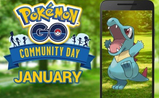 Pokemon Go January 2019 Community Day News Shiny Totodile