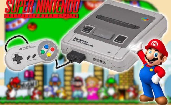 Snes Games Are Back Nintendo Announcement Brings Retro