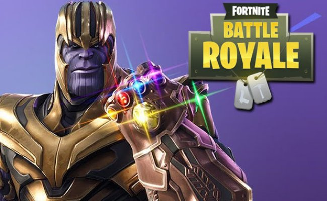 Fortnite Thanos Gameplay Changed How To Play As Thanos