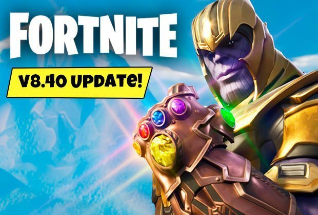 Fortnite Update 8 40 Patch Notes Today Downtime News Planes