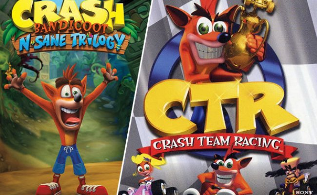 Crash Bandicoot Ps4 N Sane Trilogy Success May Pave Way