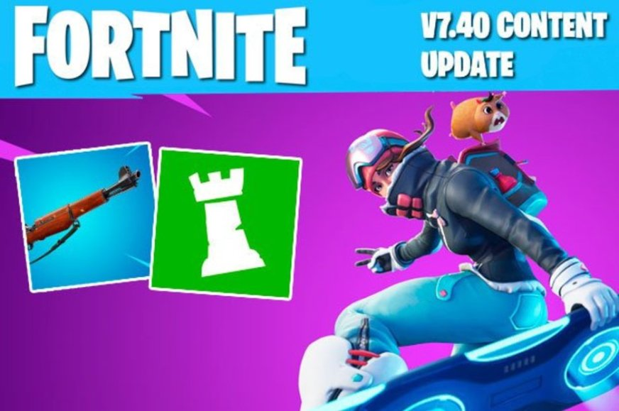 Fortnite Update 7.40 Patch Notes released: Driftboard ...