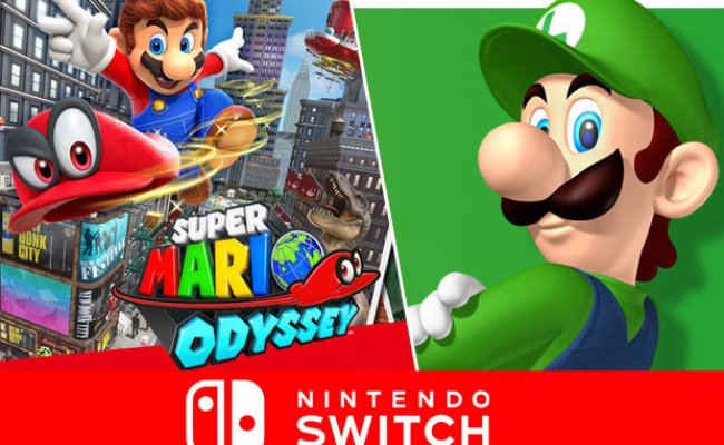 Super Mario Odyssey Update Nintendo Switch Dlc Leak