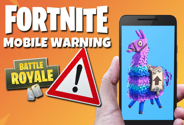 Fortnite Mobile WARNING: Epic Games' caution against sign-up and iOS download scams