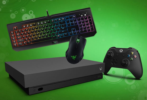 Xbox One Mouse And Keyboard Support Revealed And Coming