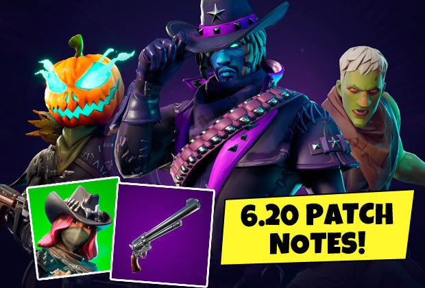 Fortnite Update Patch Notes 6 20 Halloween Update Adds