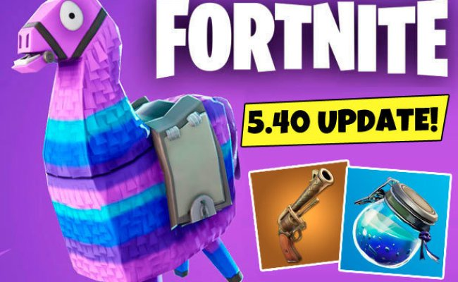 Fortnite 5 40 Update Epic Games Early Patch Notes Reveal