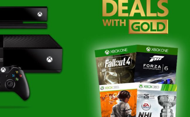 Xbox Slash Prices In Latest Deals With Gold Offers Daily