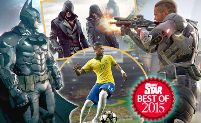 The Best Games Of 2015 Ps4 Xbox Nintendo Switch News
