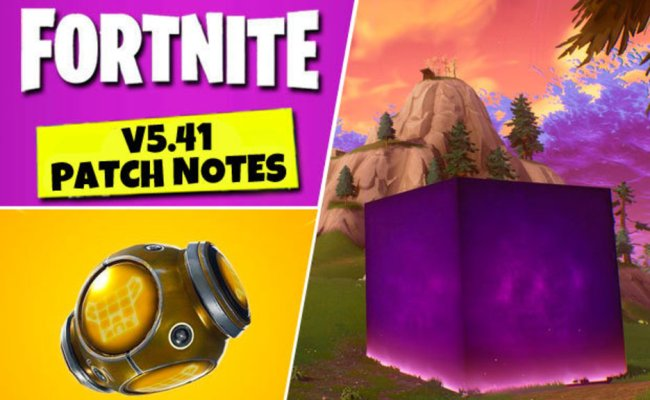 Fortnite 5 41 Patch Notes Update Epic Games Add Port A