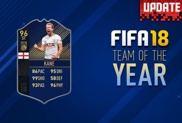 FIFA 18 TOTY REVEALED: FUT Ultimate Team Release Date, Time untill Team of the Year Cards