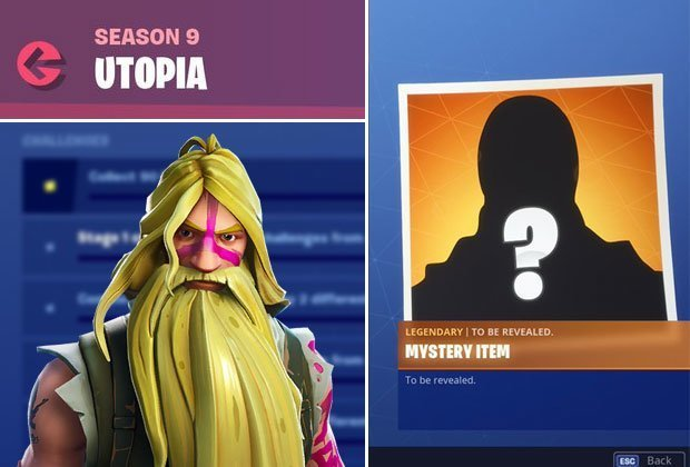 Fortnite Utopia Challenges: How to unlock Season 9 Mystery Skin from new Challenge list