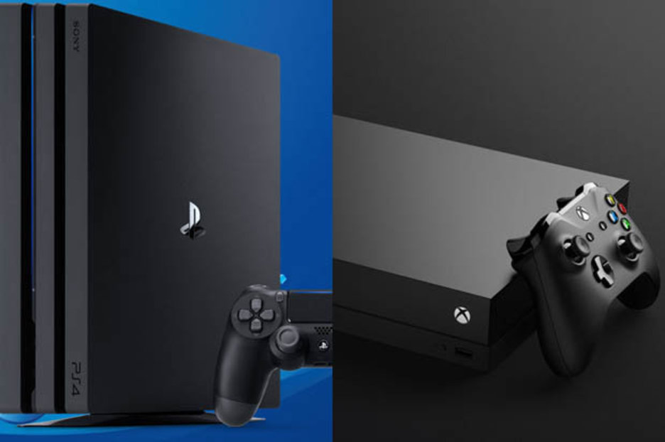 Xbox One X Vs PS4 Pro Console WAR Sony Could Be Eyeing