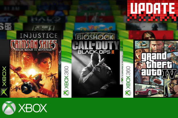 Xbox Backwards Compatibility Games Two More Xbox 360