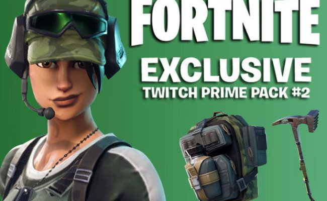 Fortnite Twitch Prime Pack 2 Pc Ps4 Xbox One Read