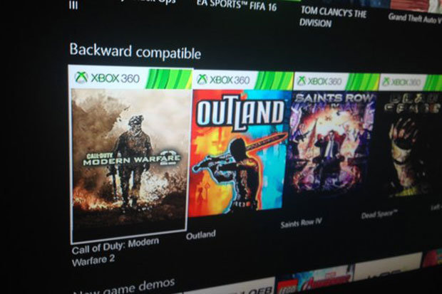 Xbox One Backward Compatibility Update Five Games Added