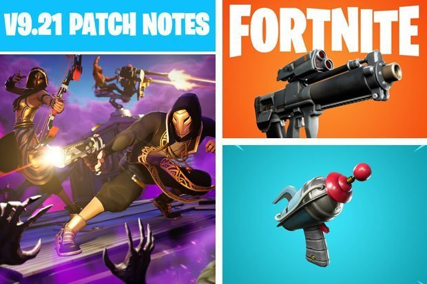 Fortnite Patch Notes 9 21 Update Epic Games Map Changes