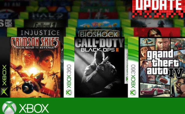 Xbox One Backwards Compatibility Games List All Xbox 360
