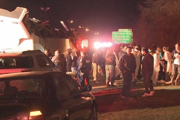 us bus crash injured children new york