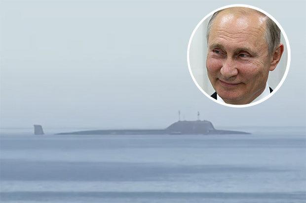 Władimir Putin i podwodna