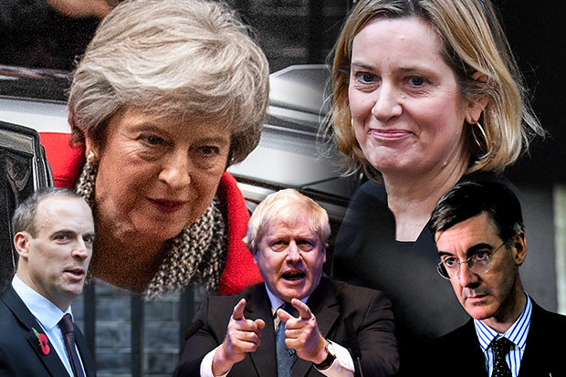 Theresa May new cabinet