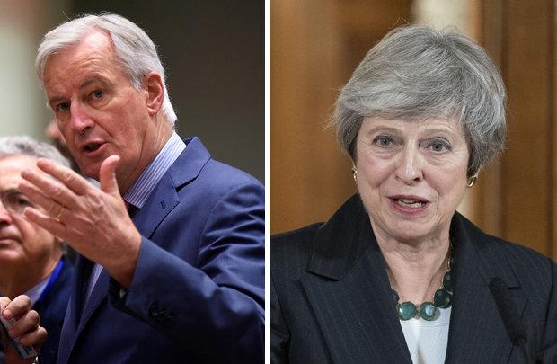 theresa may delaying brexit