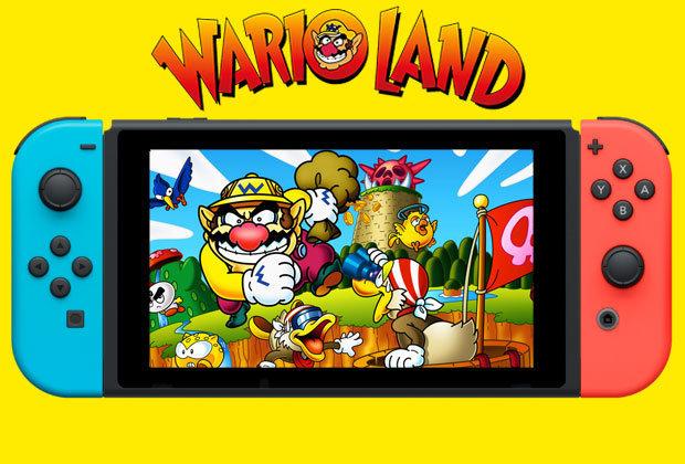Wario Land Nintendo Switch Release Date News Trademark