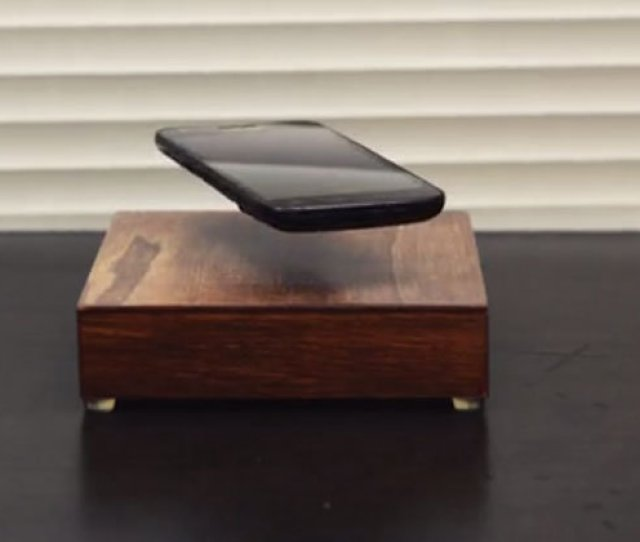 The Ovrcharge Will Replenish Your Battery While Levitating Your Phone