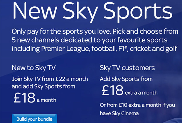 Sky Sports get major changes from TODAY with new football