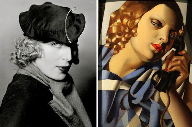 Tamara de Lempicka paintings