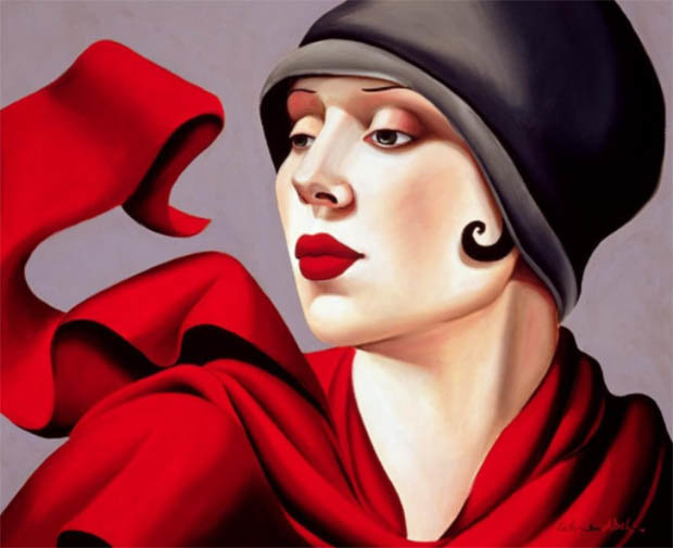 Tamara de Lempicka paintings