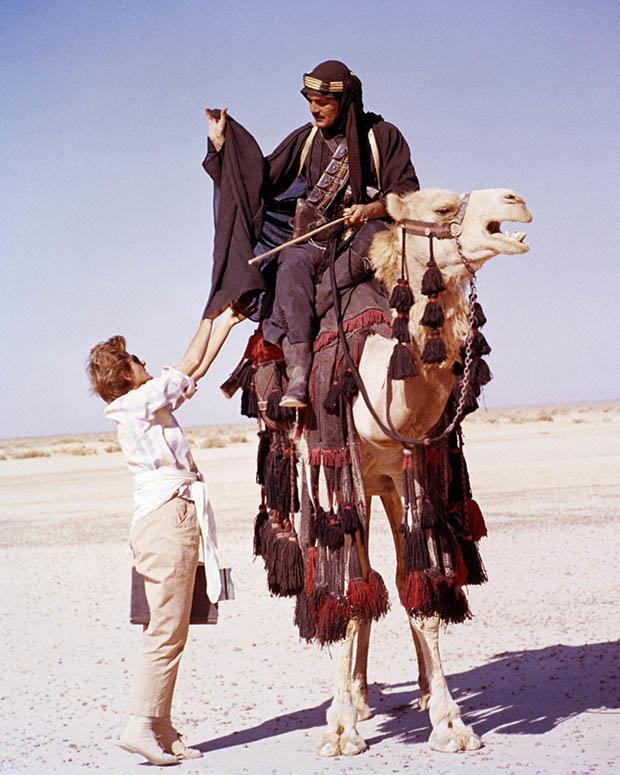 Omar Sharif in Lawrence of Arabia