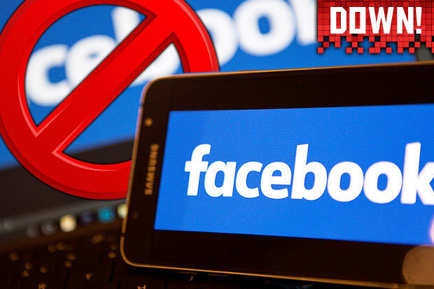 Is Facebook Down? Login problems hit social network and Instragram with server issues