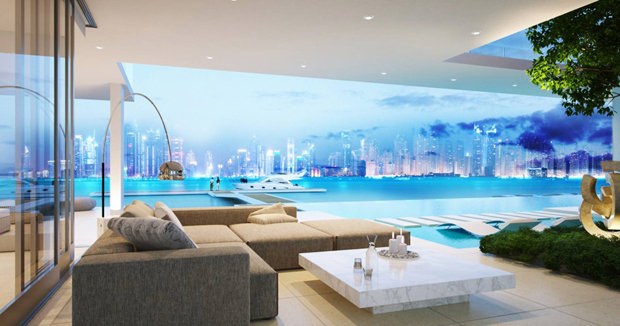 Luxury Dubai Villa With Private Island Beach And Infinity
