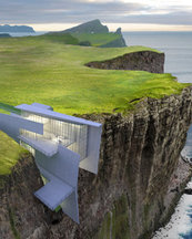 Cliff Hotel With Breathtaking Sea Views Built Into Cliff