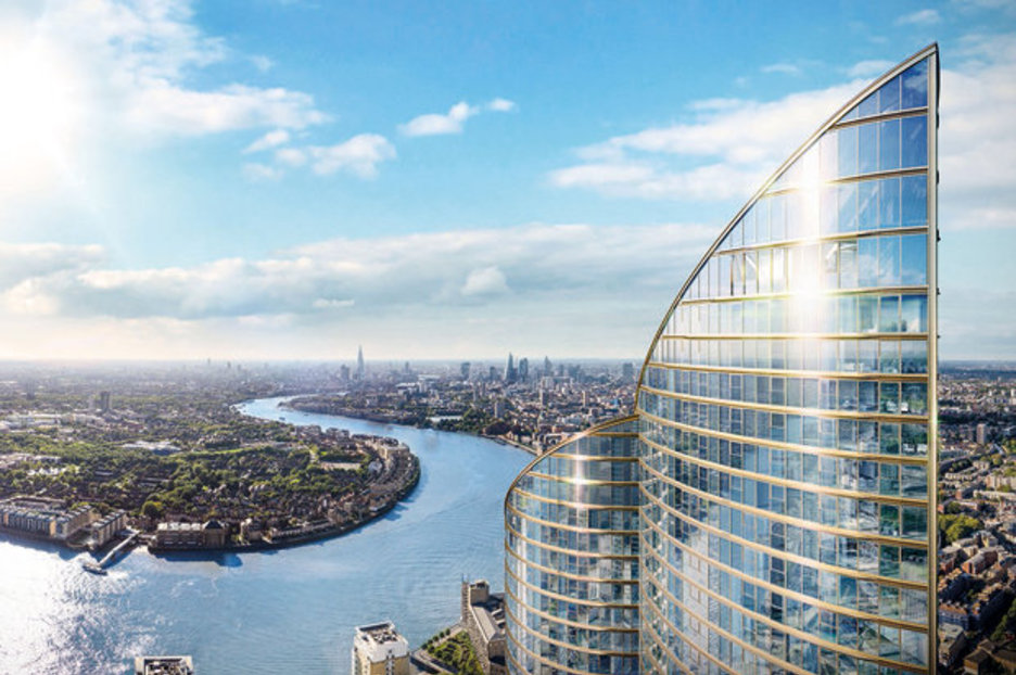 Tallest Residential Building In Western Europe With Infinity Pool To Be Built In London Daily Star