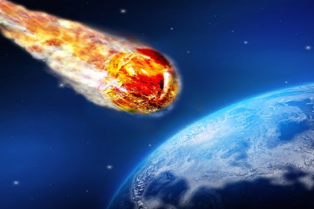 Image result for asteroid strike
