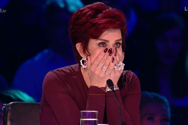chairs for heavy guys best folding beach x factor 2017: uk judge sharon osbourne reduced to tears | daily star
