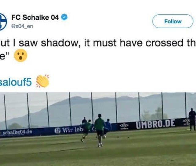 Schalke Fans Take Aim At Liverpool With Their Tweet Pic Twitter S04_en