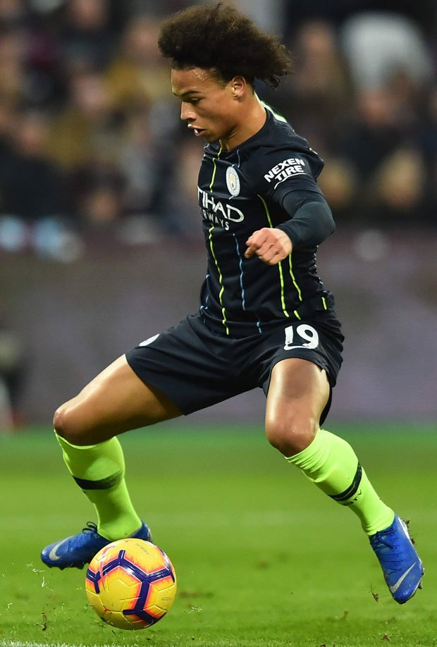 Leroy Sane has shone for Manchester City