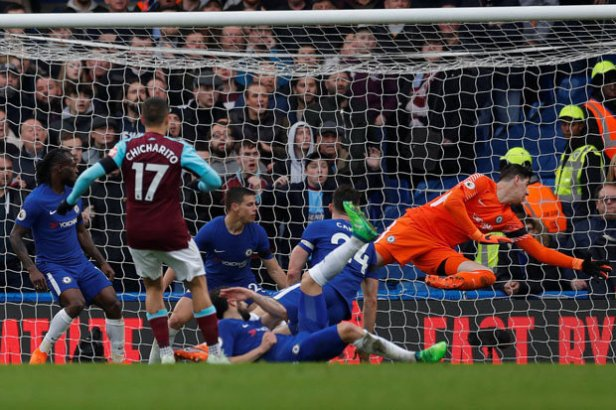 Image result for Chelsea vs West Ham 1-1
