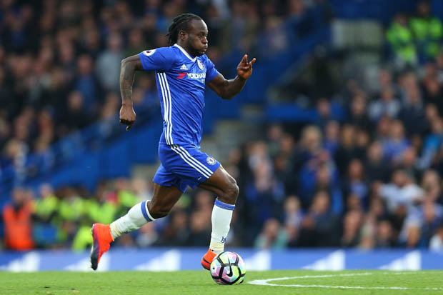 Image result for Victor Moses claims Cesar Azpilicueta