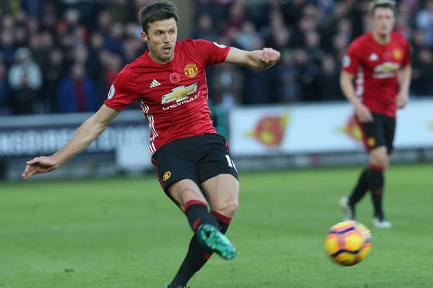 Image result for Carrick can't play every game for Manchester United – Mourinho