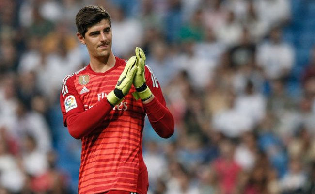 Real Madrid Star Thibaut Courtois Hails Debut And Makes