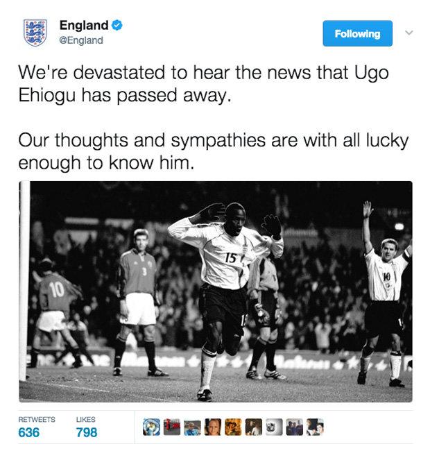 England twitter