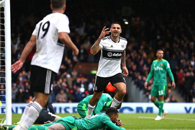 Fulham 1 Watford 1 Aleksandar Mitrovic Goal Claims Point