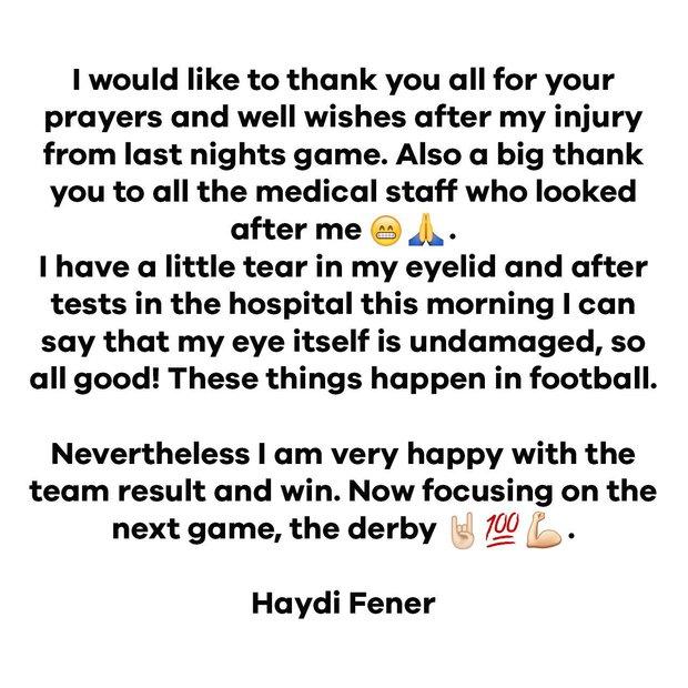 Robin van Persie eye injury: Striker says he won't go